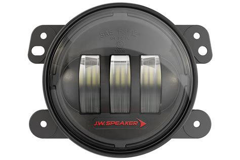 jw speaker fog lights jeep jk install free shipping on jw speaker 6145 led j2 series wrangler jk
