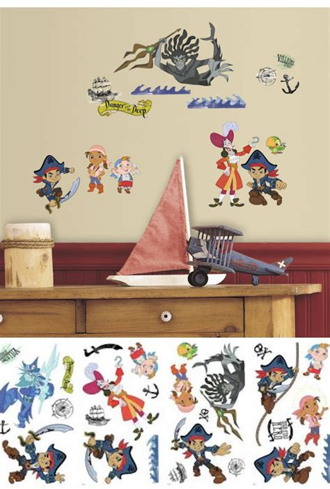 jake and the neverland wall stickers captian jake and the neverland decals