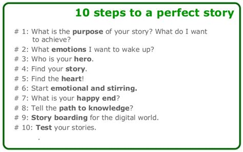 how to make story how to create a great story