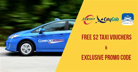 comfort taxi voucher receive free taxi vouchers and promo code from