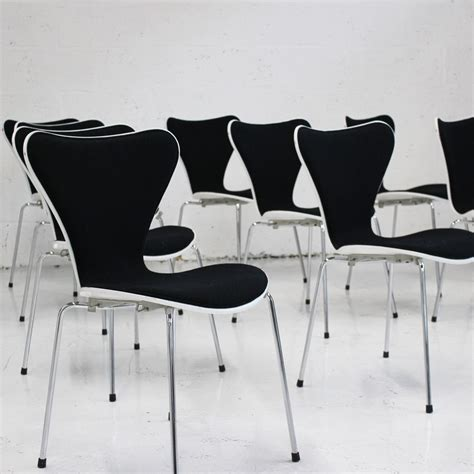 front chair fritz hansen series 7 front upholstered stacking chair