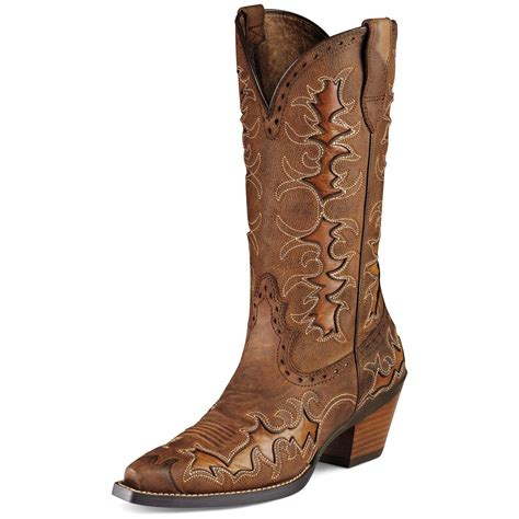 brown womans boots s ariat 174 12 quot dandy cowboy boots brown 282504