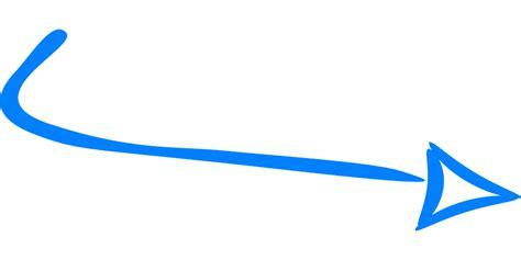 imagenes vectores png vector gratis flecha derecho azul handdrawn imagen
