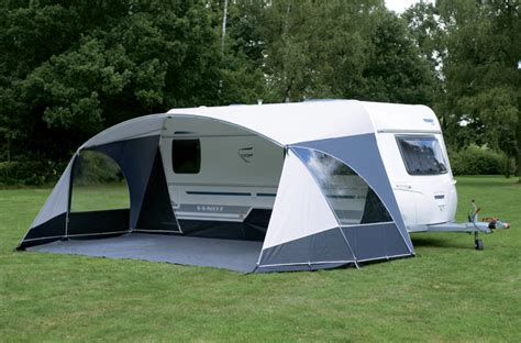 caravan awning side walls marquees unico verona awning with detachable mudguard