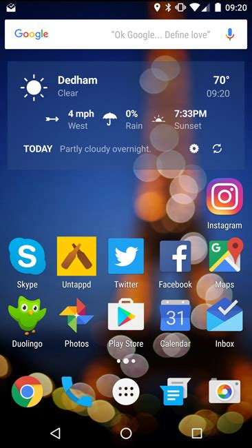 change icon size android 7
