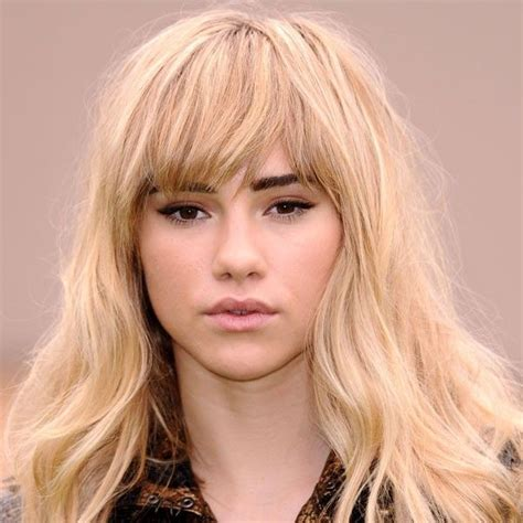 hairstyles blonde fringe suki waterhouse full fringe hairstyle hot hair