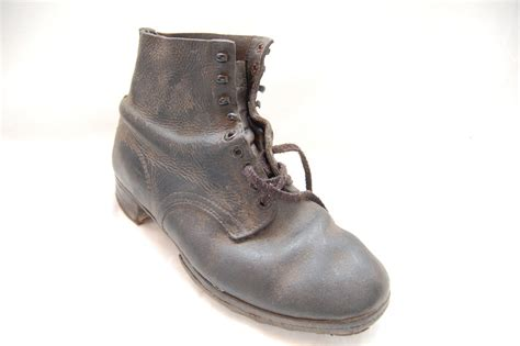 ww2 boots need help ww2 german ankle boots