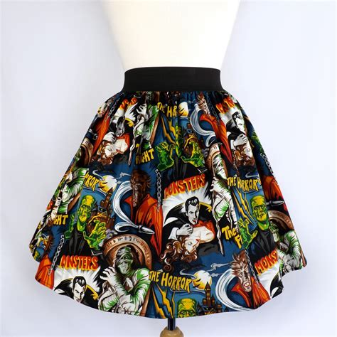 classic hollywood old time monsters return latimes quot lindy quot old hollywood monster pleated skirt 106003