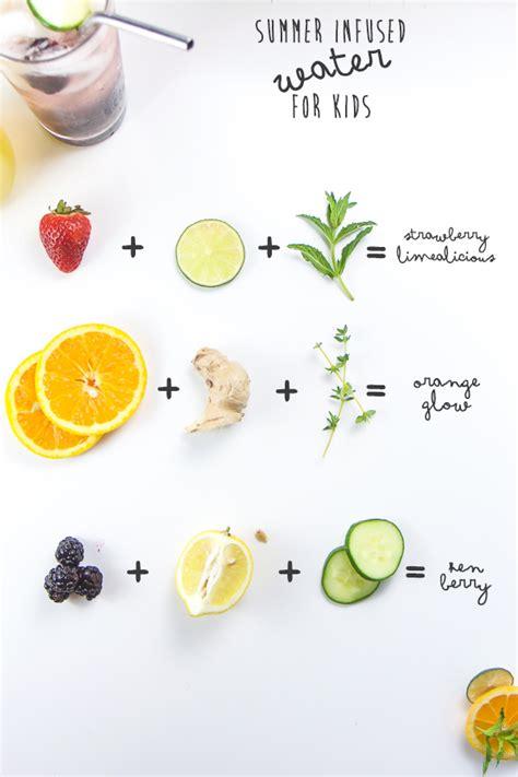 fruit infused water summer infused water for baby foode adventurous