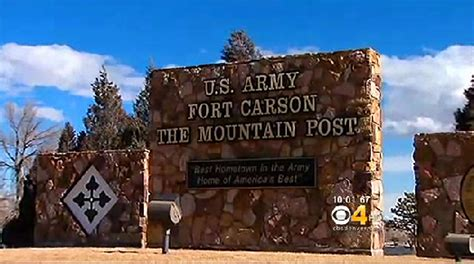fort carson colorado springs ft carson in colorado put on lockdown after report of