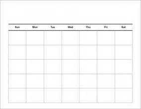 large blank monthly calendar template free calendar template