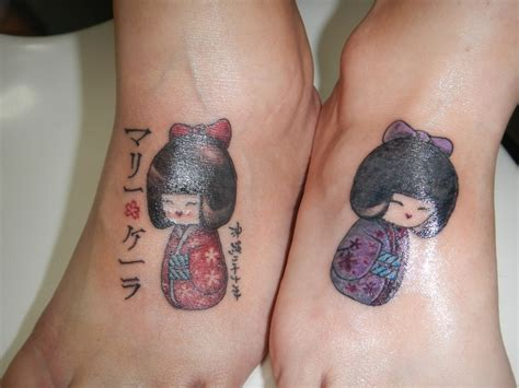 pinup doll tattoos kokeshi doll tattoos ideas doll