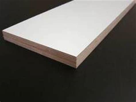 Holzplatte Weiß Beschichtet by Beschichtete Platten Ebay