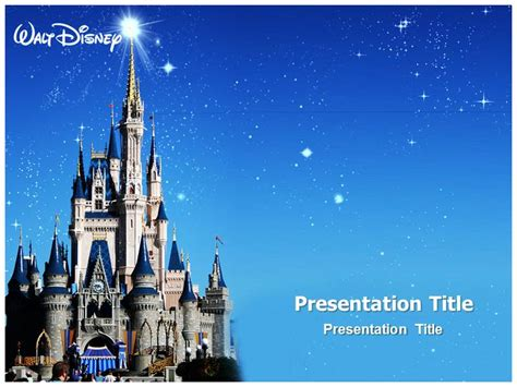 disney powerpoint templates disney world powerpoint template powerpoint background