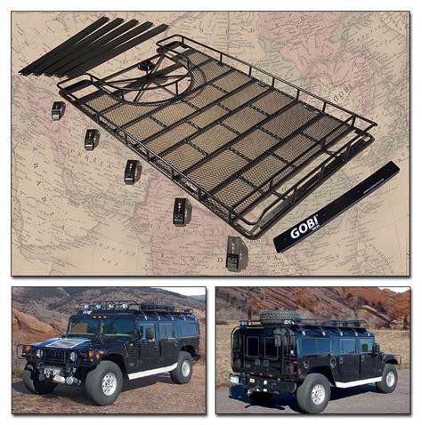 gobi hummer  ranger tire carrier roof rack ghrt