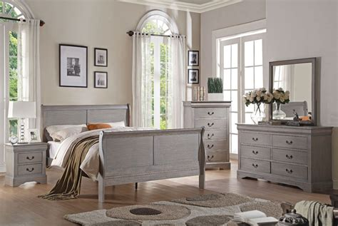 vintage grey bedroom louis philippe antique grey bedroom furniture