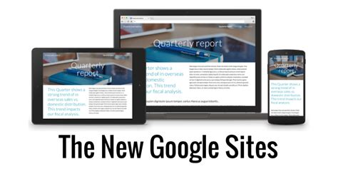 templates for new google sites control alt achieve the totally new google sites