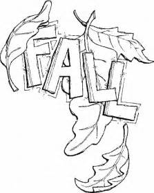 printable fall leaves coloring pages cooloring