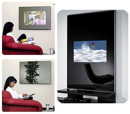 Arco Mirror Pc Tv From Lapelle Does What It Says On The Tin by Dnd Casa Wall Mirror Concept With Built In Tv Pc And Lcd