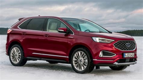 2020 Ford Edge by 2020 Ford Edge Interior Exterior Features Overview