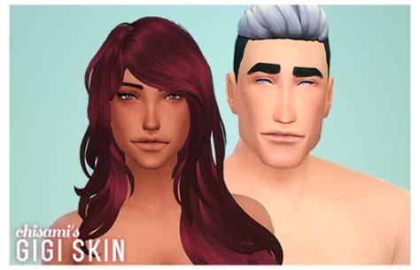 sims 4 overlay skin cleavage gigi skin at chisami 187 sims 4 updates