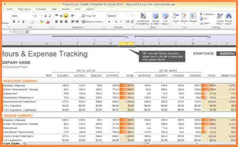 Project Cost Tracking Spreadsheet by 5 Project Cost Tracking Spreadsheet Excel Spreadsheets