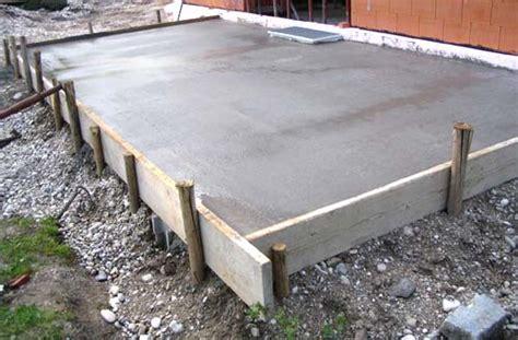 terrasse betonieren terrasse betonieren 187 massivhaus