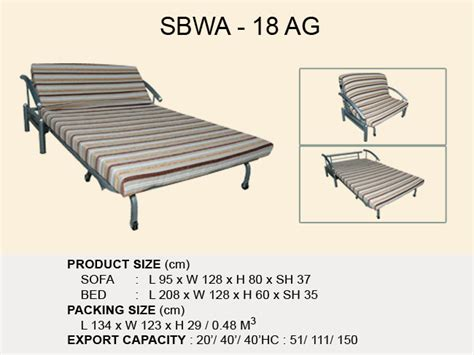 Sofa Bed Beta beta foam industrial pulled out sofa beds