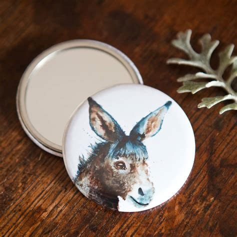 Review Inky Nature by Inky Pocket Compact Mirror By Kate Moby