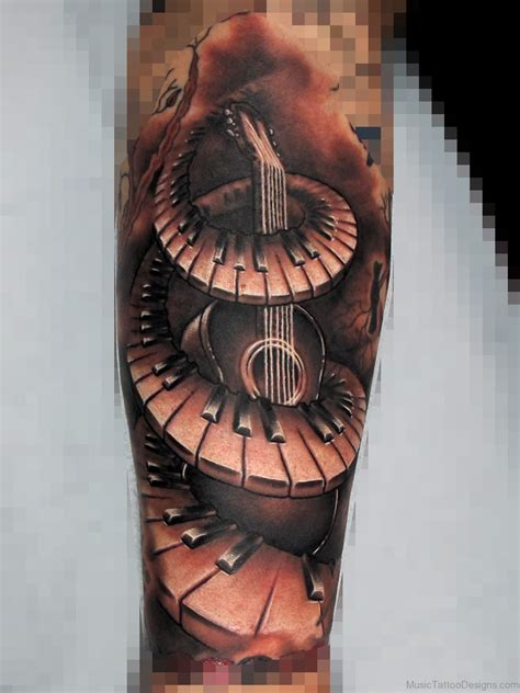 piano tattoos designs 80 stylish piano tattoos