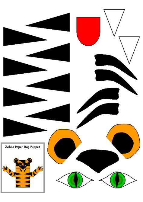 tiger puppet template 2009 january