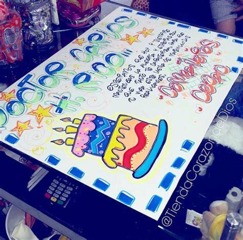 Carteleras Para Tu Novio | cartelera para cumplea 241 os decoraciones de letra