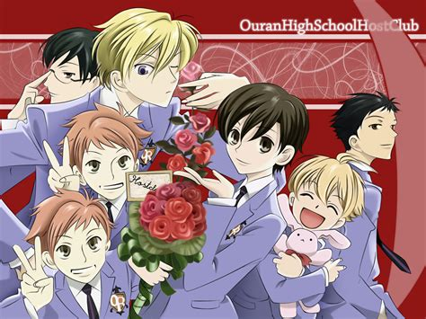 ouran high school host club mini reviews fruits basket ghost hunt ouran high school