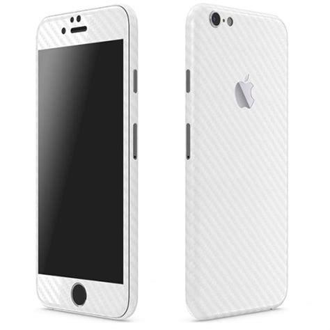 white themes for iphone 6 iphone 6 carbon series white skins wraps slickwraps