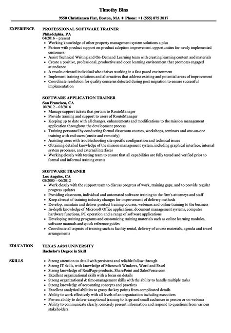 it software training resume code enforcement officer
