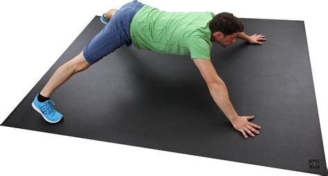 Exercise Mats For Home by Square36 Large Exercise Mat 8 X 6