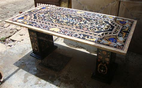 Granite Inlay Dining Table Marble Inlay Dining Tables Top At Rs Square Phul And Dining Table Marble Inlay Room Granite