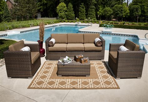 patio wicker patio furniture sets clearance home