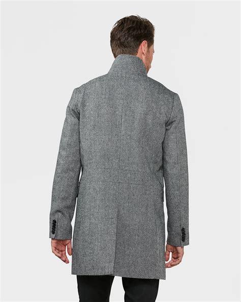 Jas Salt N Pepper Heren Salt And Pepper Wool Blend Jas 79365604 We Fashion
