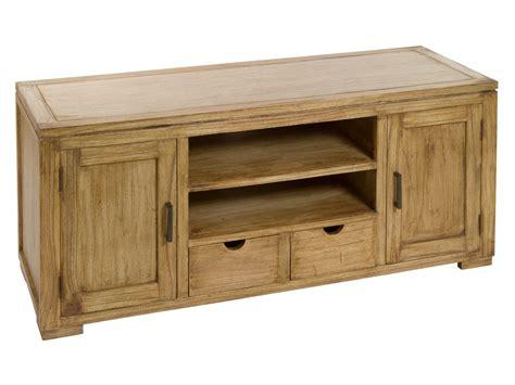 mueble tv de madera natural envejecida mesas de television