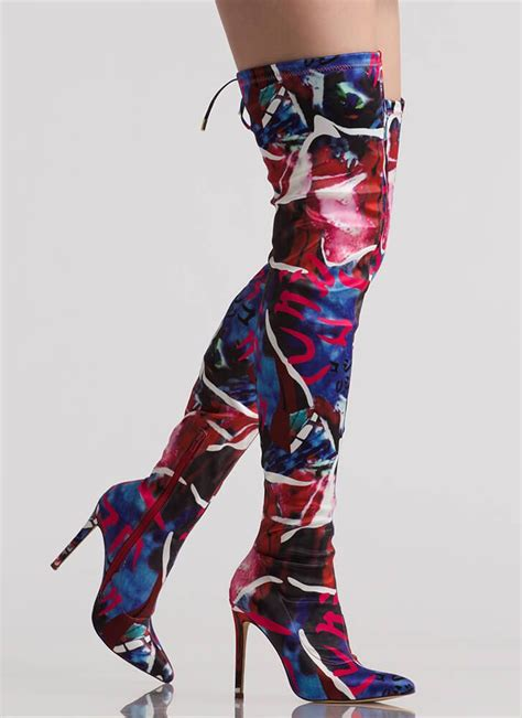 colorful thigh high boots 140 best shoes boots clothes oh my images on