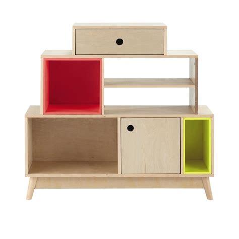 etagere 100 cm 201 tag 232 re avec casiers amovibles en bois l 100 cm dekale