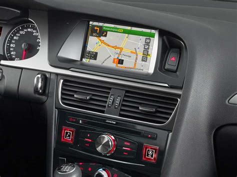 Audi Navigation Nachr Sten by Advanced Navi Station Alpine Style F 252 R Audi A4 Alpine