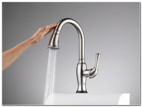 touch free kitchen faucet installing free outdoor faucet sink and faucet home decorating ideas owarzjjad8