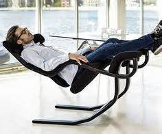 The Fully Reclinable Chair With Zero Gravity Technology by Supine Workstation Using A Relax The Back Zero Gravity