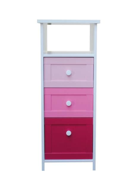 Tower Chest Of Drawers cubix 3 drawer tower chest of drawers storage unit pink