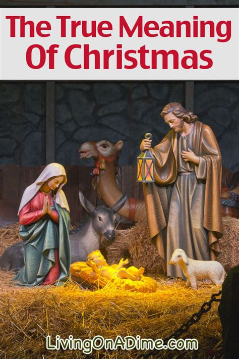 the gift the true meaning of christmas living on a dime