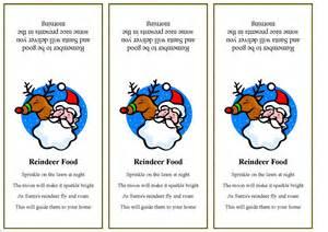 Reindeer food tags template greg blog