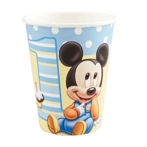 Paper Cup Mickey Isi 8 awardpedia mickey mouse cups mickey paper 9 oz cups 8 count