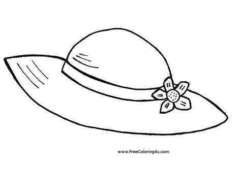 Sombrero Hat Coloring Page